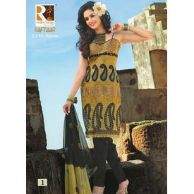 COTTON EMBROIDERY RAFTAAR SUIT - SH01LMRE