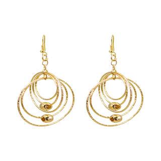 Round Multi-Rings Golden Fashion Dangler