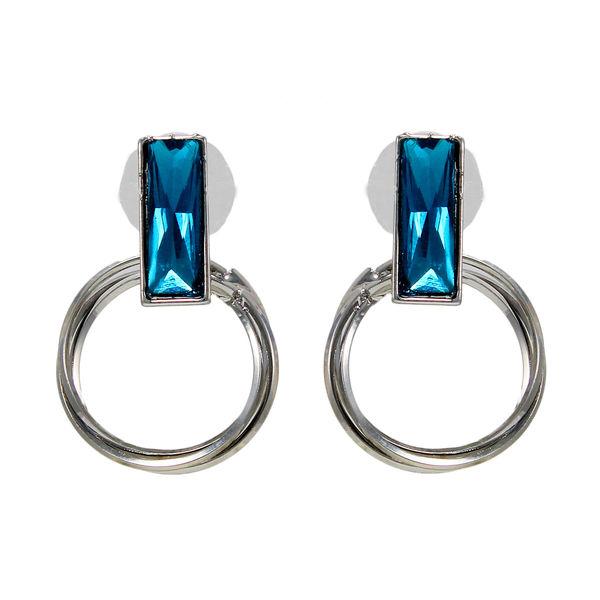 Beautiful Ring Shaped Earrings For Women