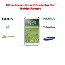 Ultra Clear HD screen scratch guard Guard protection Micromax A76