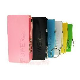 2pcs 5600mah Power bank for mobiles mp3 players radio torch power your life