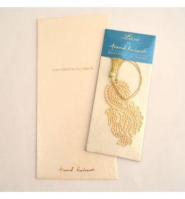 Anand Prakash Peacock Paisley Bookmark