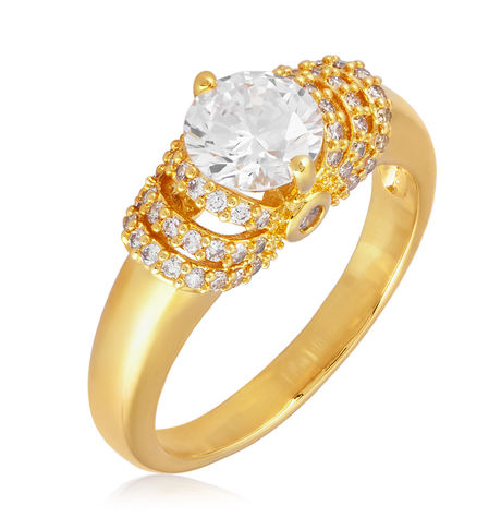Shaze Gold 7195 Empress Ring