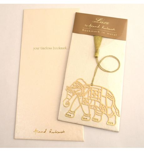 Anand Prakash Elephant Bookmark