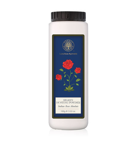Forest Essentials Indian Rose Dusting Powder