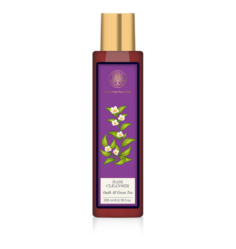 Forest Essentials Oudh & Green Tea Hair Cleanser