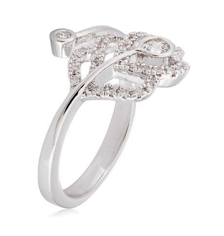 Shaze Silver 11782: 6 Peacock Ring