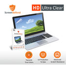 ScreenDefend Ultra Clear Screen Guard for Toshiba Notebook with Standard 10.1 inch Screen (H: 12.5 x W: 22.2cm)