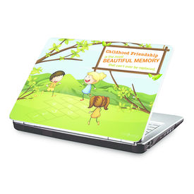 Clublaptop Childhood Friendship Is The Most Beautiful Memory -CLS 181 Laptop Skin(For 15.6  Laptops)