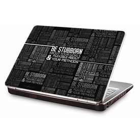 Clublaptop LSK CL 108: Be Stubborn Laptop Skin