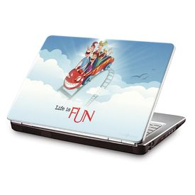 Clublaptop LSK CL 100: Life Is Fun Laptop Skin