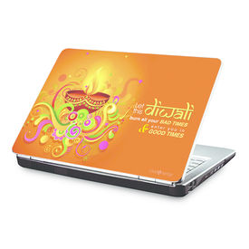 Clublaptop Let This Diwali Bring You Good Times -CLS 152 Laptop Skin(For 15.6  Laptops)