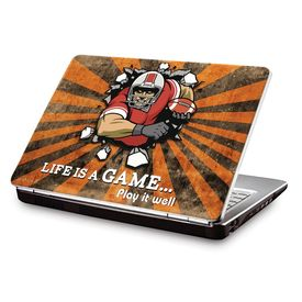 Clublaptop LSK CL 87: Life Is A Game - Play It Well Laptop Skin