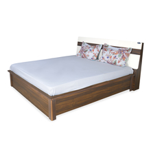 Nilkamal Lodgy Queen Bed with Storage, Brown