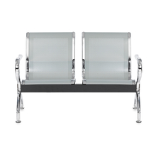 Nilkamal New Italia 2 Seater Bench - Silver