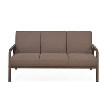 Andrea 3 Seater Sofa Dark, Brown