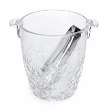 Dedalo Ice Bucket - @home by Nilkamal, Clear