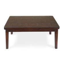 Paisley Center Table, Honey Walnut