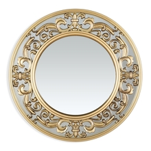 Oriental Shine Mirror - @home by Nilkamal, Gold