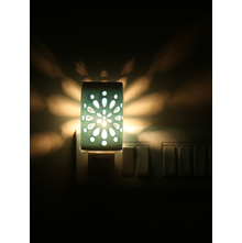 Motif Electrical Plugin Diffuser 5cmX5cmX8cm - @home by Nilkamal, Sea Green