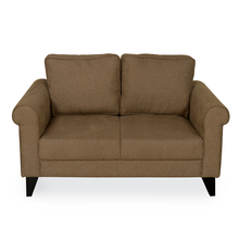 Shelby 2 Seater Sofa - @home by Nilkamal, Merlot Brown