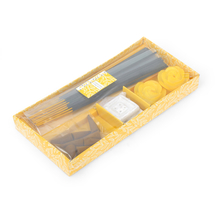 Lemon Incense Gift Set -@home by Nilkamal, Yellow