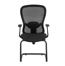Nilkamal Alba Mid Back Visitor Chair, Black
