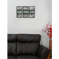 Key to Life 16X33CM Set of 3, Photo Frame
