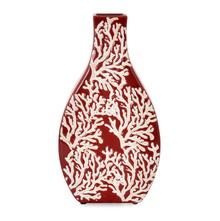 Earthy Wine Vase - @home by Nilkamal, Maroon