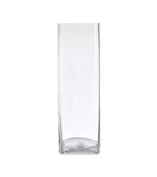 Block Tall Vase - @home by Nilkamal, Clear