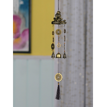 Hanging monkey Coin 50CM Windchime, Multicolor