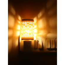 Electrical Plugin Diffuser 5cmX5cmX8cm - @home by Nilkamal, Yellow
