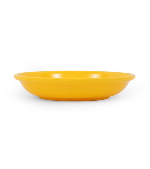 Urban Sunshine Snack Plate - @home by Nilkamal, Yellow