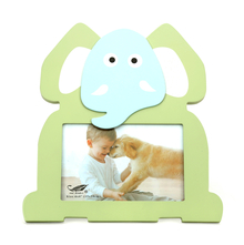 Baby Elephant Photo Frame 4X6 Inch - @home by Nilkamal, Olive