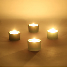 Ambient Mini Votive Set of 4, Yellow