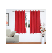 Opus 2 Pieces Window curtain 112X152CM, Red