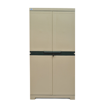 Nilkamal Freedom Mini Medium Storage Cabinet FMM, Pastle Green/Grey