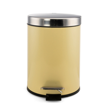 5 Litre Dustbin - @home By Nilkamal, Beige
