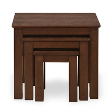 Humber Nest Table Set Of 3, Walnut