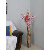 Tall Alto 15X15X77CM Vase, Copper