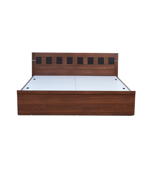Nilkamal Reegan Queen Bed,  walnut