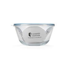 Sanjeev Kapoor 1.6 Litre Round Mixing Bowl with Lid, Blue