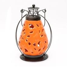 Solar 11 cm x 11 cm x 14 cm Lantern - @home by Nilkamal, Sea Green