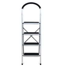 Nilkamal Vesta 4 Step Ladder, Black White