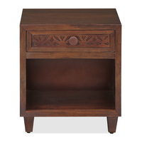Trellis Night Stand, Cherry