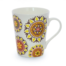 Aroha Suzani Coffee Mug - @home by Nilkamal, Maroon