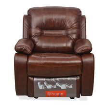 Wilson 1 Seater Sofa With Rocker Recliner - @home By Nilkamal, Caramel