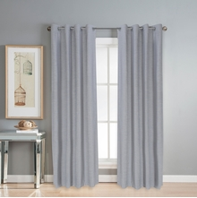 Moshi 112 cm x 214 cm Door Curtain Set of 2 -@home by Nilkamal, Grey
