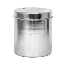 Plain Cereal 4.2 Litre Stainless Steel Round Container, Silver