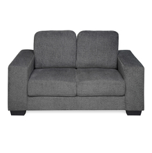 Asher 2 Seater Sofa, Dark Grey